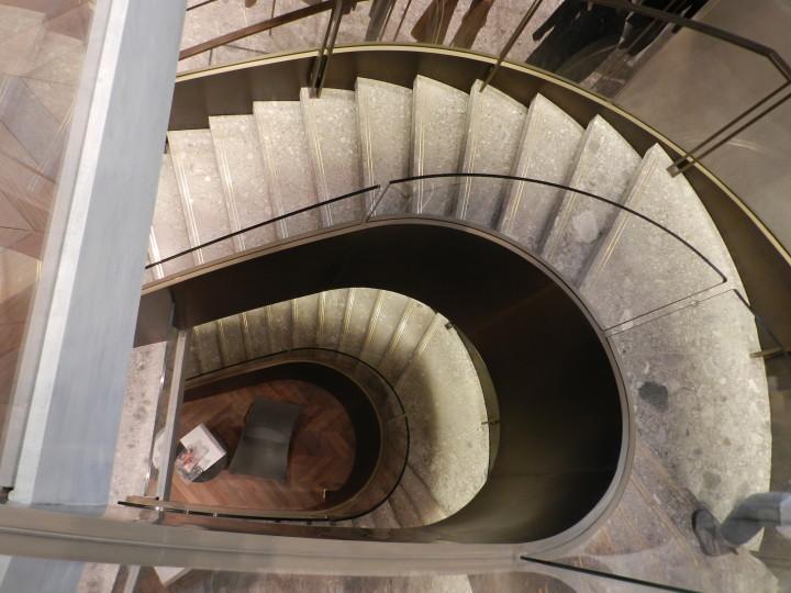 Spiral staircase Max Mara