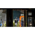 Scala elicoidale NIVA nel nuovo negozio DIESEL