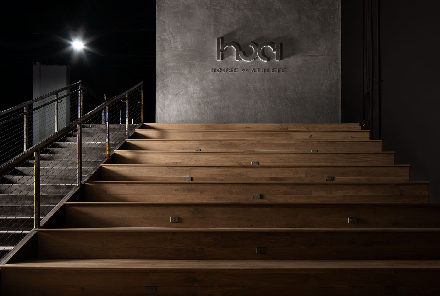 House of Athlete staircases