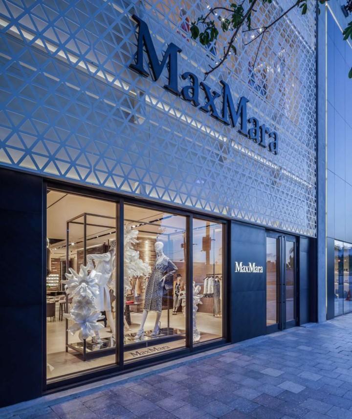 facciata Max Mara – Miami