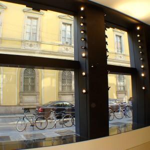 Facciata negozio Bikkembergs – Milano 4