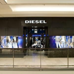 Facciata negozio Diesel – Essen
