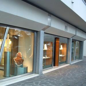 Facciata gioielleria Spinelli – Abano Terme